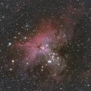 M16, The Eagle Nebula,                                pcruiksh