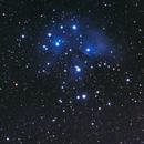 The Pleiades (with a telescope),                                dkamen