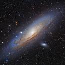 M31 Andromeda Galaxy,                                Steed Yu