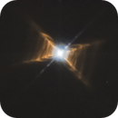 Red Rectangle Nebula (HD44179) in Monoceros from the Hubble Telescope Legacy Archive,                                Michele Vonci