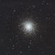 M13 Globular Cluster in Hercules,                                Carastro