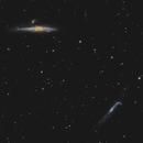 NGC 4631 & 4656,                                Chris Parfett @astro_addiction