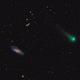 C/2017 T2 (PANSTARRS) passes Messier 106,                                vchari252