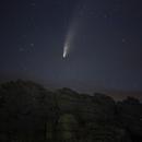 Comet Neowise over Hound Tor, Dartmoor,                                Jim Thurston