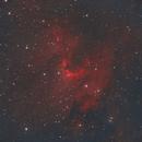 Cave Nebula,                                Clem