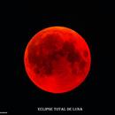 Eclipse Total de Luna - 27/07/2018,                                Esteban García Navarro