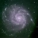 M101 Pinwheel Galaxy,                                Peter Bresler