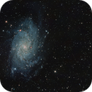 M33 with Vixen R200SS,                                JanD