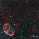 "NGC 6888 / Crescent Nebula / ""Soap Bubble"",                                Ron Bokleman"