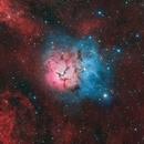 The Night of the Trifid, Messier 20,                                Logan Carpenter