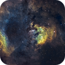 NGC7822 4-panel-mosaic ,                                Andreas Zirke