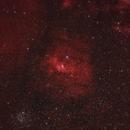 NGC7635 Bubble Nebula HaRGB,                                Barry Wilson