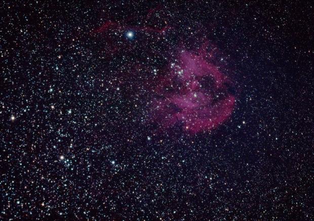 λ Centauri Nebula/Running Chicken Nebula,                                long1486