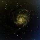 M101 - Pinwheel galaxy,                                André Wiget