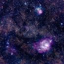 Lagoon Nebula,                                CHUN-YU CHEN