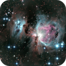 Orion Nebula and the Running man,                                Osama Fathi