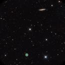 Owl nebula and M108 Galaxy,                                daserpey