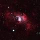 Bubble Nebula in HOO,                                nerdybeardo