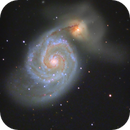 M51 Whirlpool Galaxy with C14 Edge HD,                                Ray's Astrophotog...