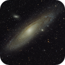 M31 - second attempt, after 4 years  of valuable frustrations :-),                                Günther Dick