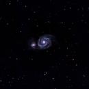 M51 Whirlpool Galaxy,                                normmalin