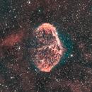 Crescent Nebula Bicolor,                                Mauro Colnaghi