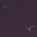 Jupiter and Saturn @ 2020-12-09 - 135 mm,                                Wolfgang Zimmermann