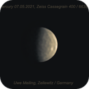 Mercury today with good details,                                Uwe Meiling