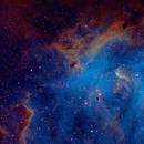 Centaurus; Running Chicken Nebula, SHO,                                S. Stirling