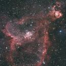 IC 1805 Heart Nebula OSC,                                Brandon Tackett