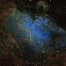 Messier 16 & IC 4703 Eagle Nebula in  Serpent - SHO RGB,                                Daniel.P