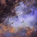 M16 - Eagle Nebula SHO,                                Amir Salehi