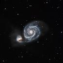 M51 Whirlpool Galaxy,                                Brent Jaffa