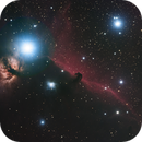 Horse Head and Flame Nebula,                                fibble