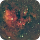 NGC7822 in HSO,                                orangemaze