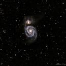 M 51 Galaxie du Tourbillon,                                Alain L'ECOLIER