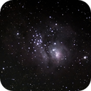 M8 Lagoon Nebula,                                sfischer