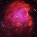 NGC 2174 - Monkey Nebula (Ha-O-III),                                Rich Sky