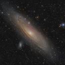 M31 + a Nostalgic View,                                Michael Feigenbaum
