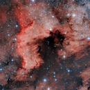 NGC7000 reworked,                                Enrico