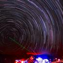 Star Trail South pole in Brazil,                                Rodrigo Andolfato