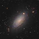 M63 - Sunflower galaxy (osc+L),                                Álmos Balási