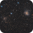 The Fireworks Galaxy & NGC 6939,                                Olli Arkko