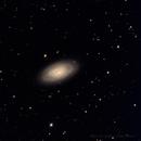 M64 - Black Eye Galaxy,                                Datalord