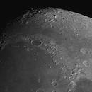 Moon, cratere Plato e Polo Nord, 16 Marzo 2019,                                Ennio Rainaldi