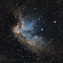 Wizard nebula - NGC 7380,                                Rob Parsons