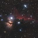 Flame & Horsehead Nebula,                                Gregor Vojščak