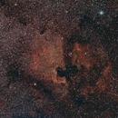 NGC7000 Wide Field,                                Mike Oates
