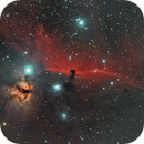 Horsehead and Flame, 30hrs,                                Mike