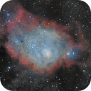 M8 - Lagoon Nebula,                                Hayden Purcell